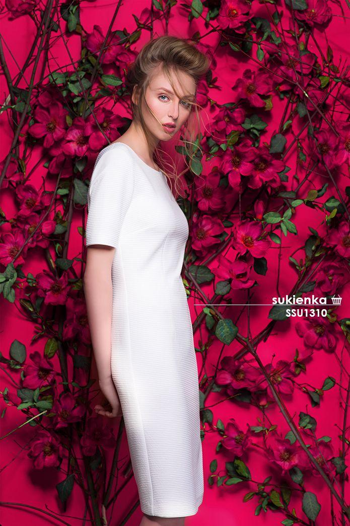 Biała #sukienka #topsecret