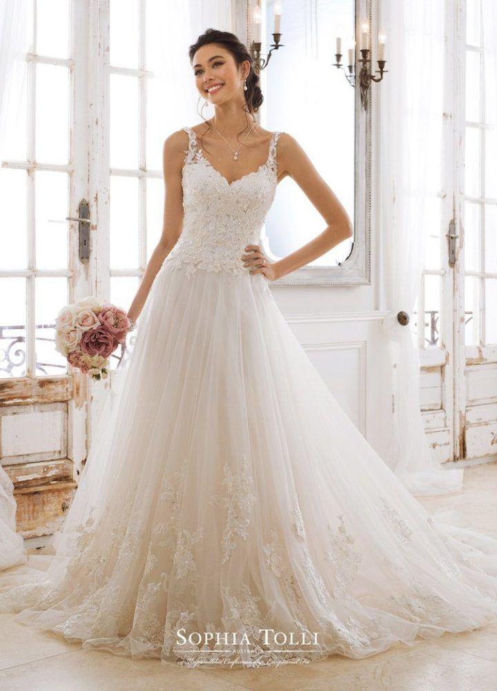 abb579dfff Classic Spring 2018 Sophia Tolli Wedding Dresses