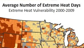 """This links to a series of NRDC US maps that illustrate how """"Climate Change Threatens Health."""""""
