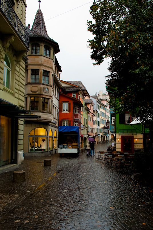 Zurich, Switzerland. Nicest city in the world to live in. One day I'll do it!