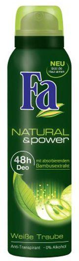 Fa Natural and Power White Grape Deo Spray