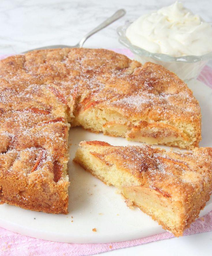 Ljuvlig äppelkaka – Lindas Bakskola