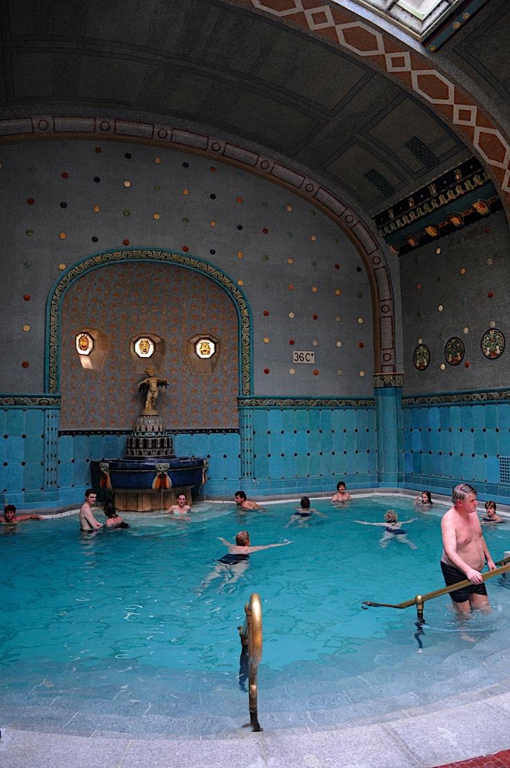 Gellert Baths, Hotel Gellert, Budapest
