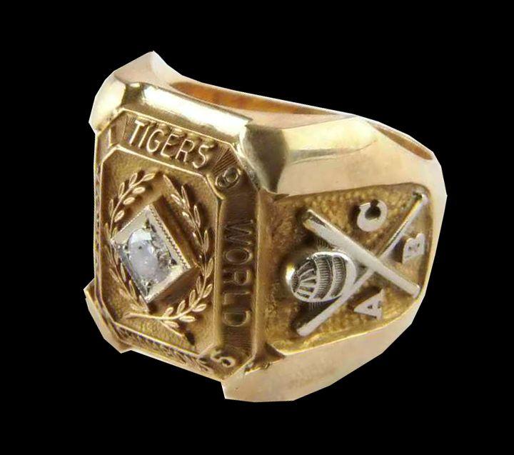 Detroit Tigers 1945 World Series Ring