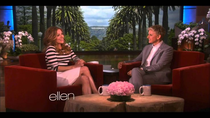 Sasha Alexander: The Ellen Show - May 2014