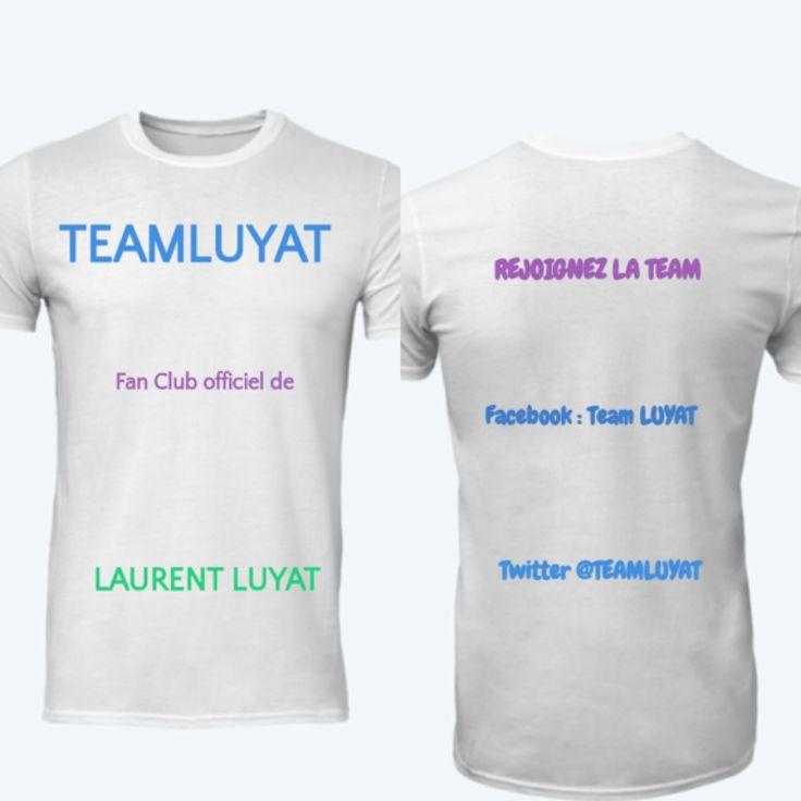 https://www.moteefe.com/teamluyat-fan-club-officiel?locale=fr  Dress code pour les fans de Laurent Luyat