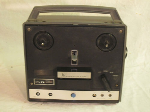 Vintage 1960 Lafayette Reel to Reel Tape Recorder Model RK710 | eBay