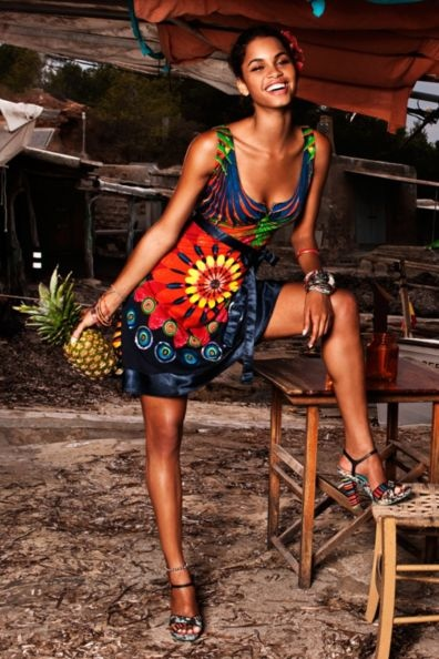 Summertime! - Desigual dress, so fun and colorful