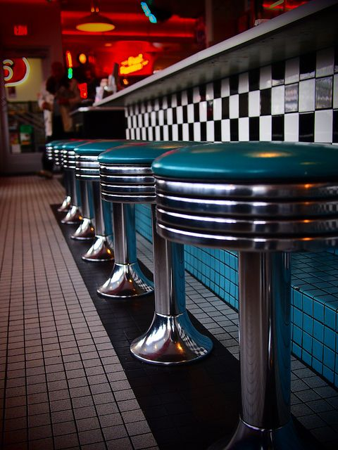 Route 66 Diner ~ Albuquerque, New Mexico. Best chocolate milkshakes ever! and a green Chile cheese burger!