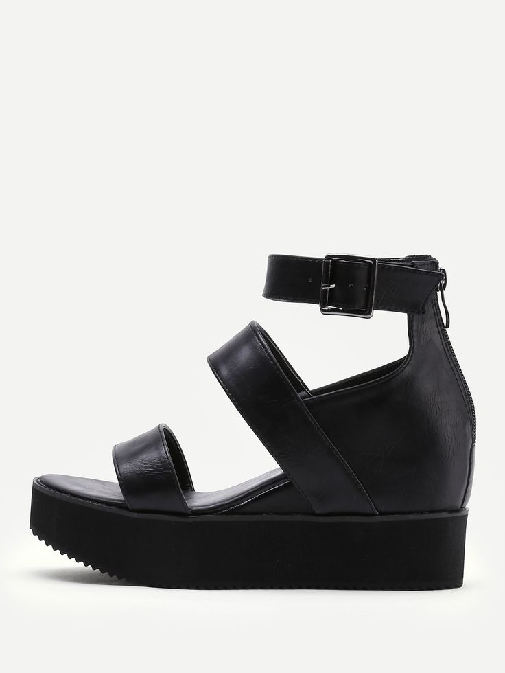 Shop Open Toe Platform Wedge Sandals online. SheIn offers Open Toe Platform Wedge Sandals & more to fit your fashionable needs.