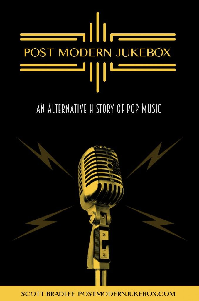 Post Modern Jukebox Promotional Poster