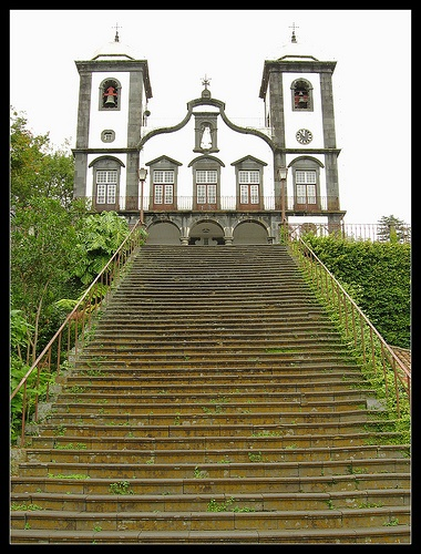 Our Lady do Monte church in Funchal. Madeira Island Portugal