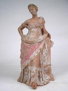 Ειδώλιο γυναικείας μορφής από τη Μύρινα, 200 - 160 π.Χ.