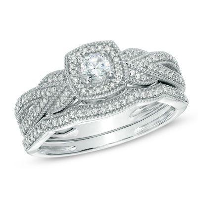 24 Best Wedding Ring Sets Images On Pinterest Bridal
