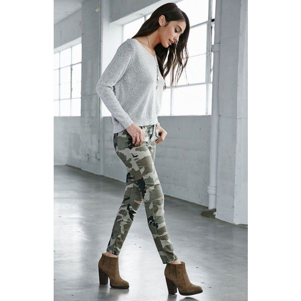 60248763bb Best 25+ Camo skinny jeans ideas on Pinterest