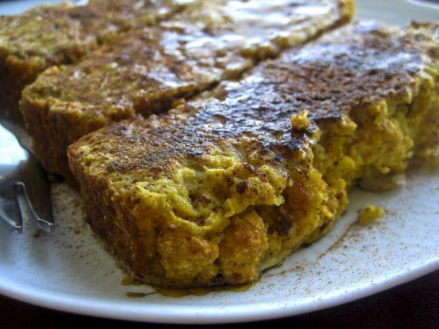 Gluten-free French Toast with Pumpkin Cornbread - Queen of Quinoa ...