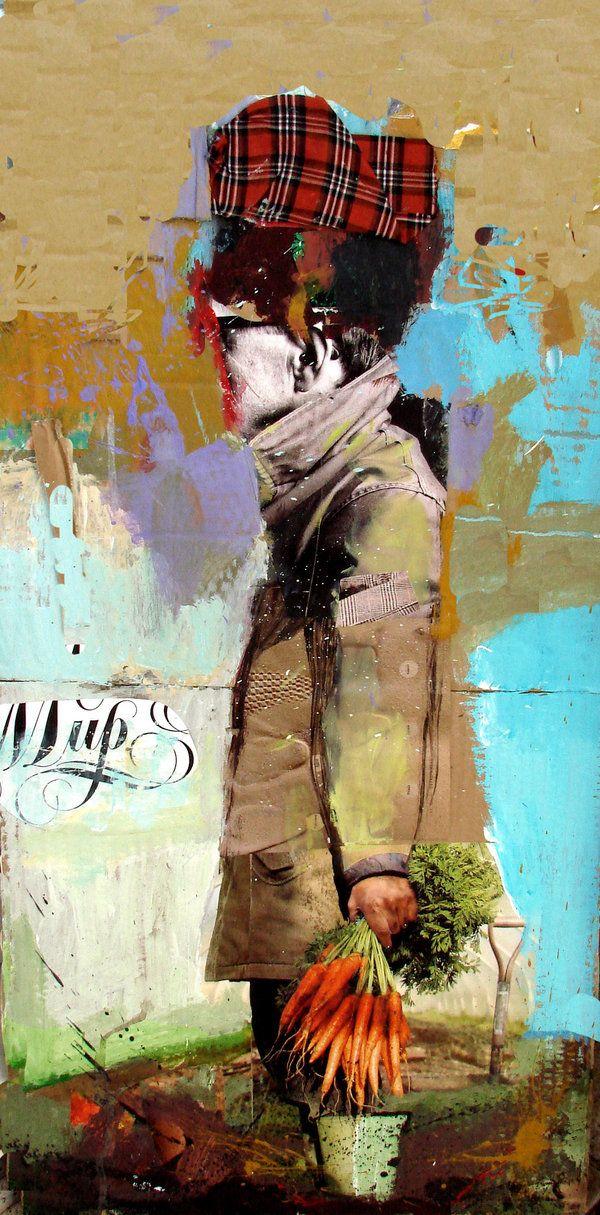 ⌼ Artistic Assemblages ⌼  Mixed Media & Collage Art - pioner by igorska.deviantart.com