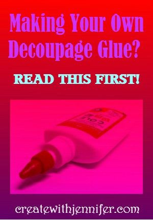 How To Make Decoupage GlueWhat's on this page?How To Make Decoupage GlueHomemade Decoupage Glue RecipeSteps To Make Decoupage GlueCan You Add Anything Extra To Your Homemade Decoupage Glue Mixture?Can You Make Decoupage Glue With Flour?Homemade Decoupage Glue Tips Learn how to make decoupage glue when money or time is tight! Although Mod Podge is the …