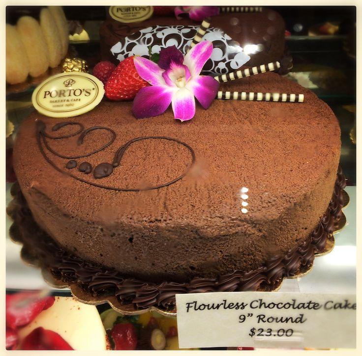 Portos Flourless Chocolate Cake