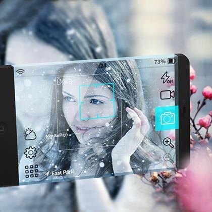 Future Camera #app UI by Behzad Ghaffarian