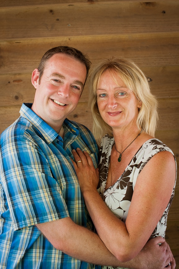 Love Stories finalists - Jill Williams and Adam Womersley