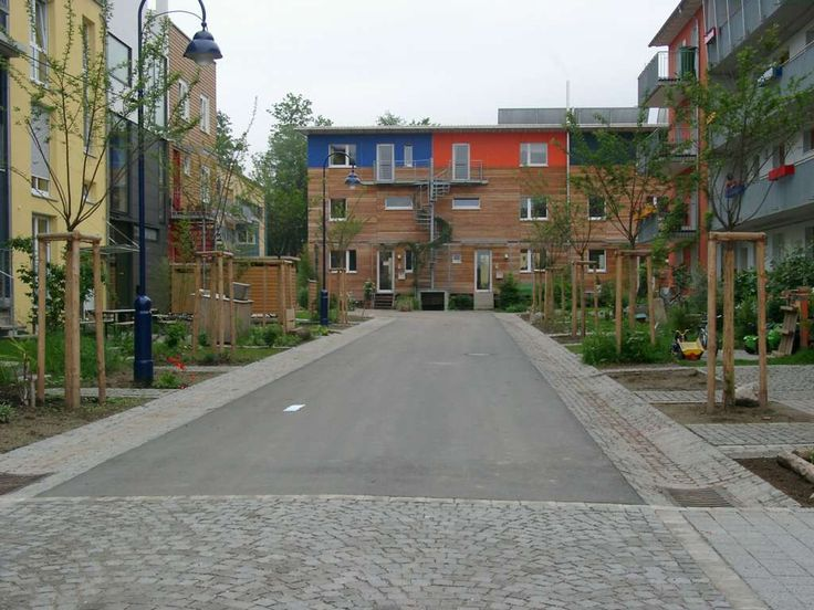 The Vauban neighborhood in Freiburg, Germany is an ultra-sustainable model district built on the site of a former French military base. Visit the slowottawa.ca boards  http://www.pinterest.com/slowottawa/