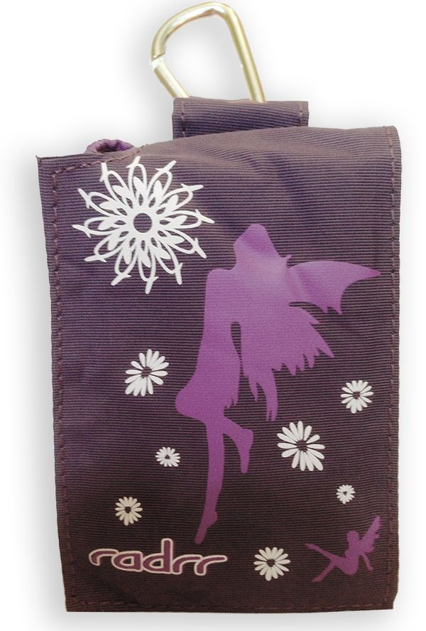 This is one of our most popular insulin pump cases for girls.  Fairies and flowers on a deep purple background.  This case is really beautiful and elegant.  Fits the major insulin pump cases including all Medtronic models.