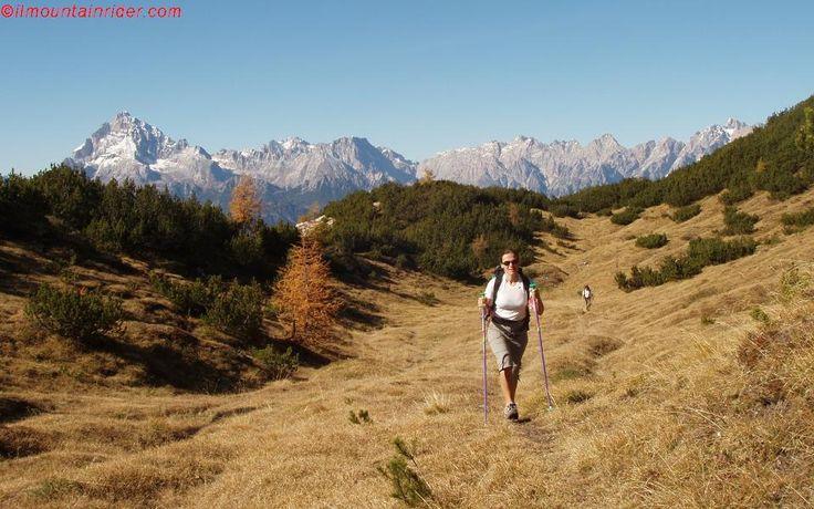 Verso Forcella Val Misera - Spalti di Toro http://www.ilmountainrider.com/itinerari/spalti-di-toro/