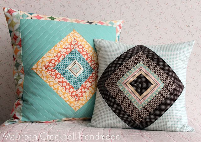 Pillow Set Tutorial for Riley Blake by maureencracknell