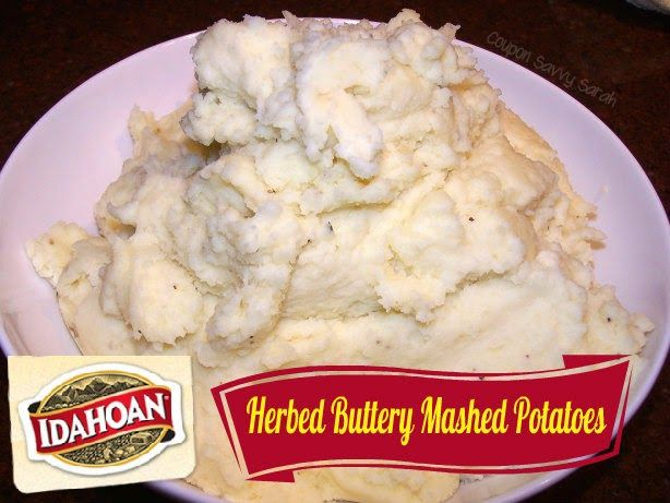 Idahoan Mashed Potatoes Review & Giveaway (Ends 12/28)  http://couponsavvysarah.blogspot.com/2014/12/idahoan-mashed-potatoes-review-giveaway.html