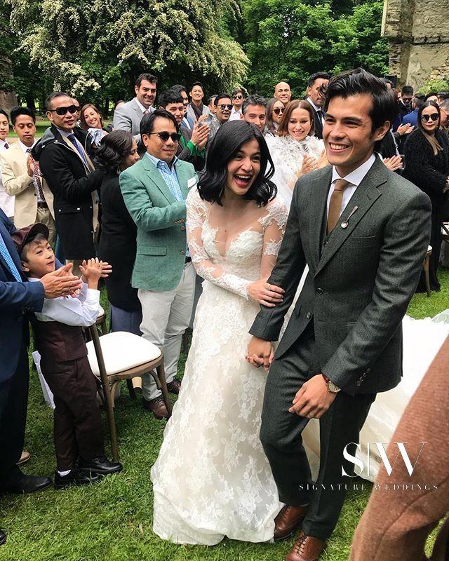 Anne Curtis Smith and Erwan Heussaff's Très Romantique Wedding in New Zealand
