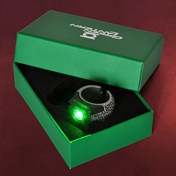 Green Lantern - Energie Ring mit Leuchteffekt