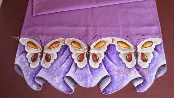 pintura em tecido - postado no grupo barrados inteligentes do facebook.