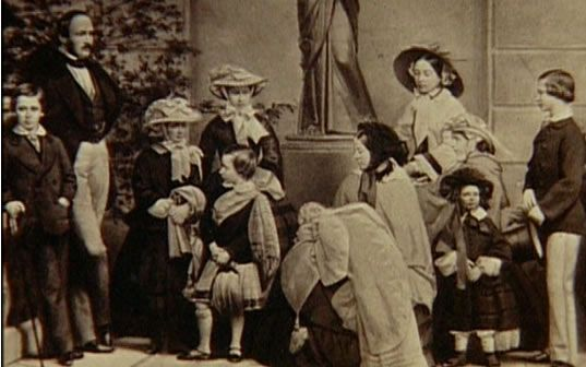 Queen Victoria, Prince Albert and their children.
