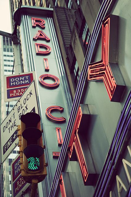 Radio City, New York Vintage by Randy Le'Moine Photography, via Flickr