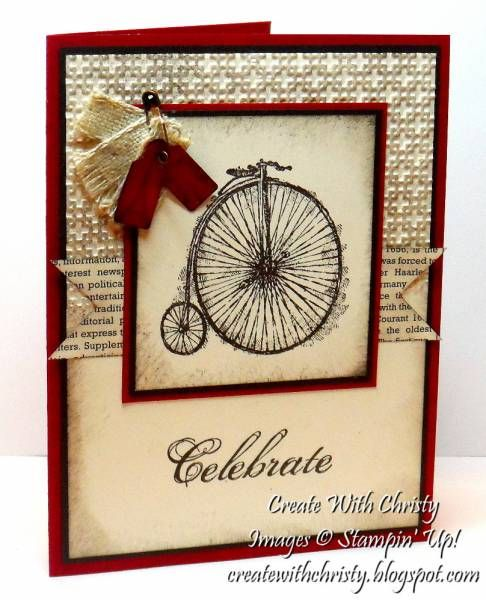 My First Feeling Sentimental Card by StampinChristy - Cards and Paper Crafts at Splitcoaststampers