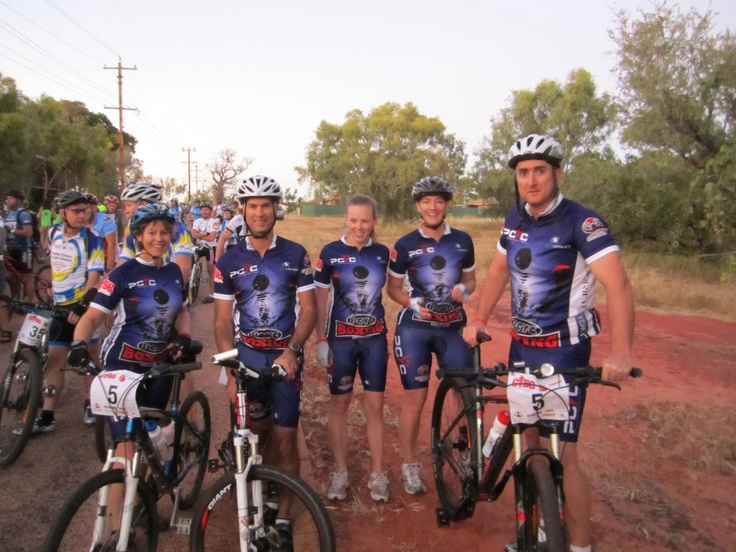 GREAT TEAM, riding the GIBB for charity :)