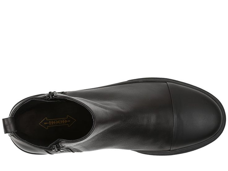 HOOD Rubber Company Welleslely Men's Shoes Black