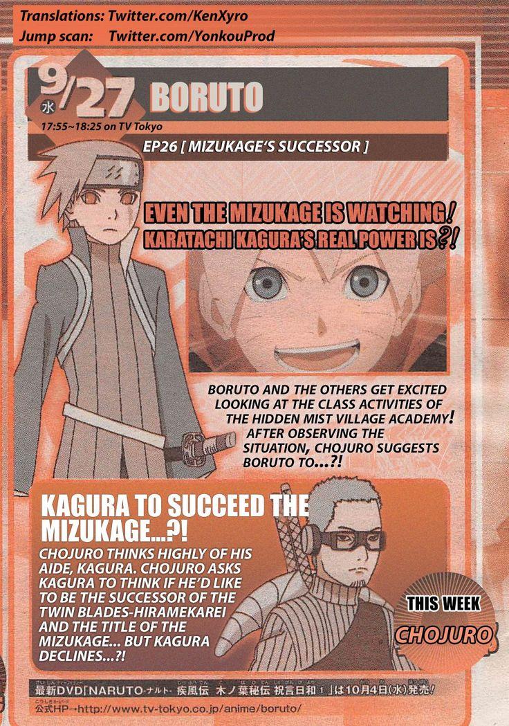 Boruto Tv Anime Episode 26 Title and summary - http://ift.tt/2xuujro