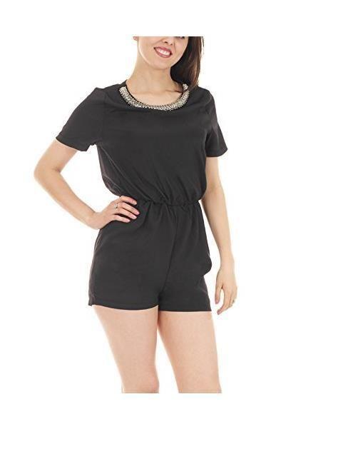 UK Womens Celeb Sexy Summer Beach Mini Jumpsuit Ladies Playsuit Shorts SunDress