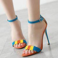 Orange Blue & Yellow Suede Stilettos (scheduled via http://www.tailwindapp.com?utm_source=pinterest&utm_medium=twpin&utm_content=post86560925&utm_campaign=scheduler_attribution)