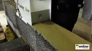Mura med murarlåda WeberSverige - YouTube