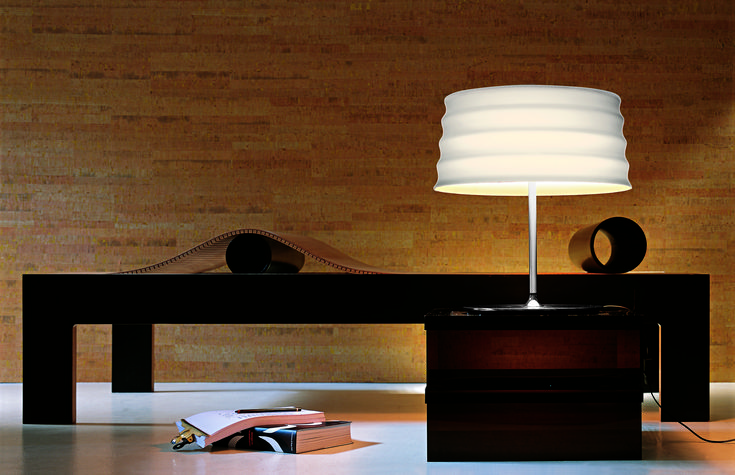 C'hi Table Lamp made in Italy by Penta. Available at Sarsfield Brooke.