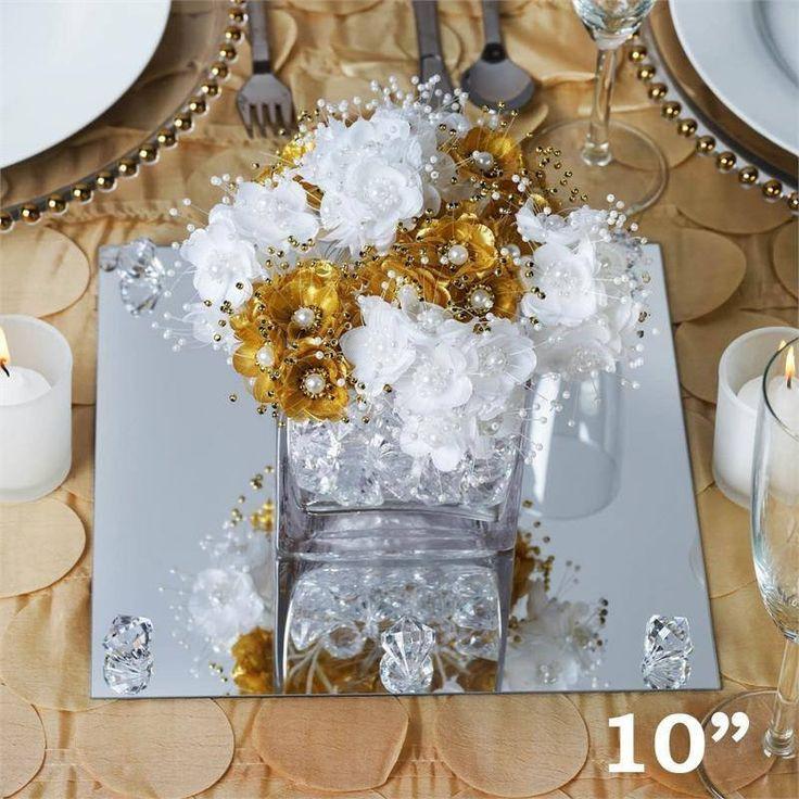 Best 25+ Mirror wedding centerpieces ideas on Pinterest