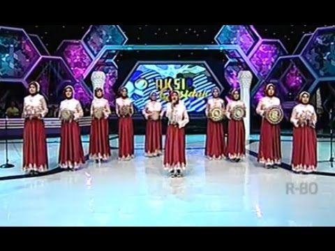 Aksi Qasidah Az Zahra Jakarta ' Ababina ' @ D'T3rong Show 9 September 2014