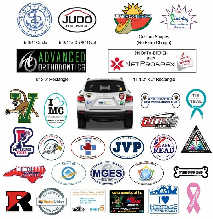 Best Images About Car Magnets On Pinterest Cars Magnetic - Custom oval car magnets   promote your brand