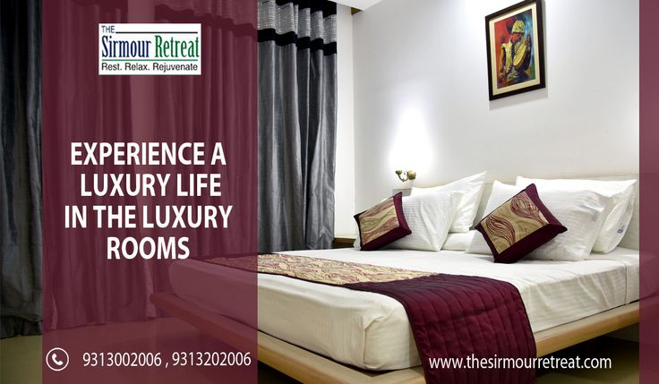 Book your stay at #SirmourRetreat. It is a pleasurable and luxurious resort with lot more facilities at an affordable price.