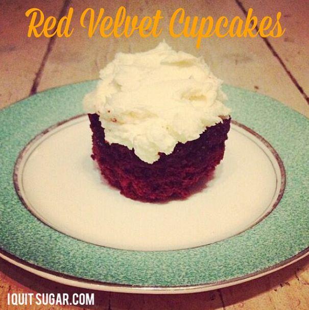 I Quit Sugar: Red Velvet Cupcakes