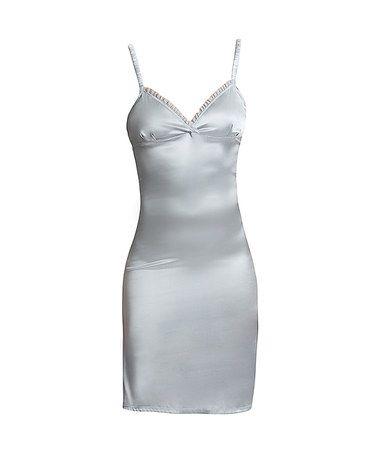 Hoff by Hoff: Pearl Blue Silk Slip Dress by Beaches & Boudoirs on #zulilyUK today!
