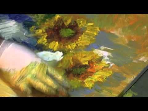 """La pittura medianica di Florencio Anton """"Vincent Van Gogh""""  Il Medium Florencio Anton attraverso la pittura medianica dipinge quadri di pittori famosi disincarnati. Evento svoltosi a Milano all'associazione Sentieri dello Spirito il 14 febbraio 2014. Il ricavato dell'asta dei quadri verra interamente devoluto ai bambini brasiliani in difficoltà"""